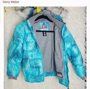 GERRY GIRLS winter jacket fur hood coat 7/8